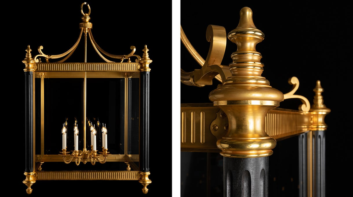 remy garnier - lustre en bronze dore - signatures singulieres magazine