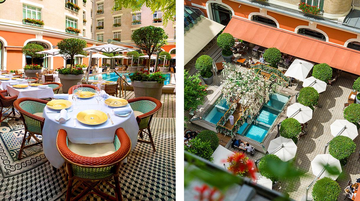 Restaurant hotel royal monceau - signatures singulieres magazine