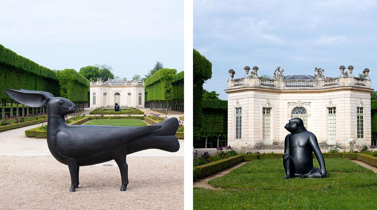 sculptures de françois-Xavier lalanne - pavillon francais de versailles - signatures ingulieres magazine