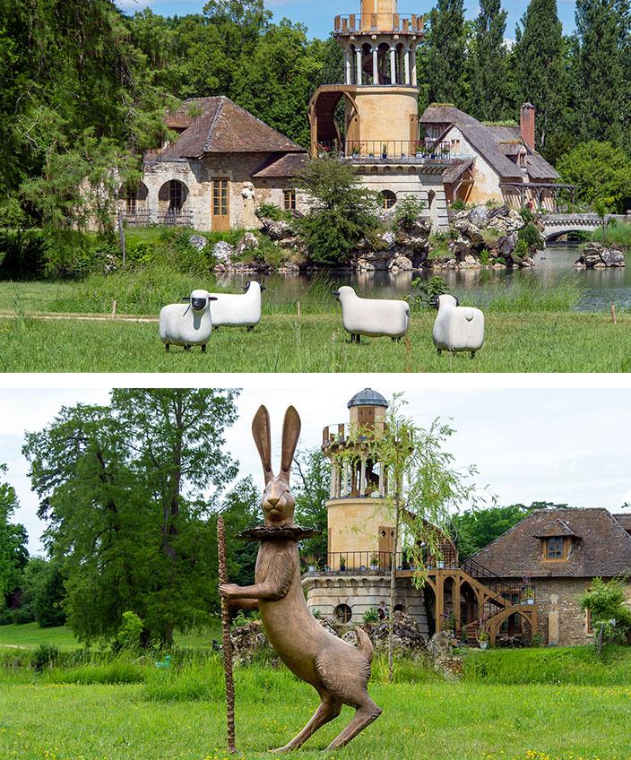 moutons de François-Xavier lalanne - chateau de versailles- signatures singulieres magazine