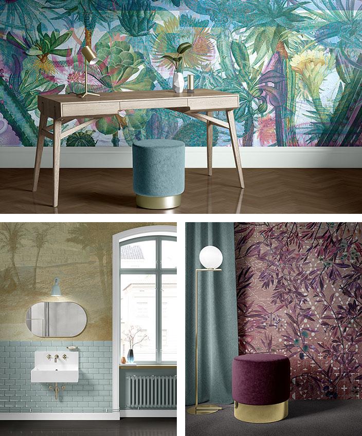 quinsai - papier peint panoramique tropicale - Marilyn Spataro - signatures singulieres magazine